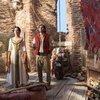 Mena Massoud and Naomi Scott in Aladdin