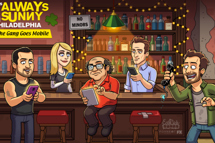 Mobile Game It's Always Sunny