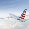 American Airlines plane - AA art