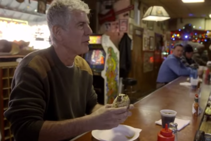 Anthony Bourdain South Jersey Cheesesteak