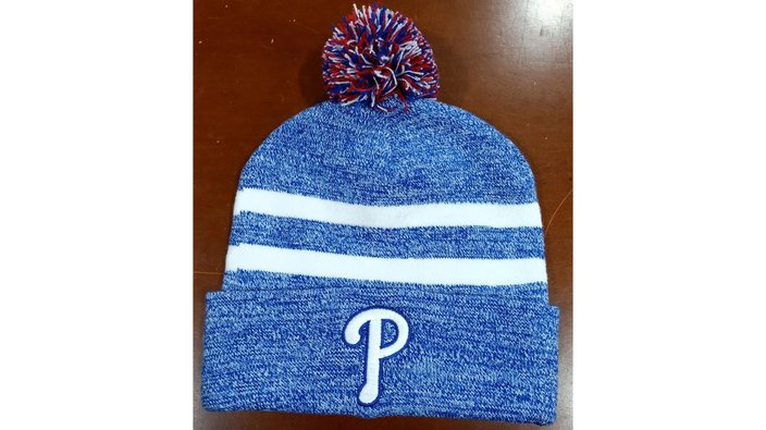 Phillies knit hat giveaway