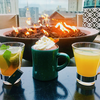 Winter drinks at Assembly Rooftop