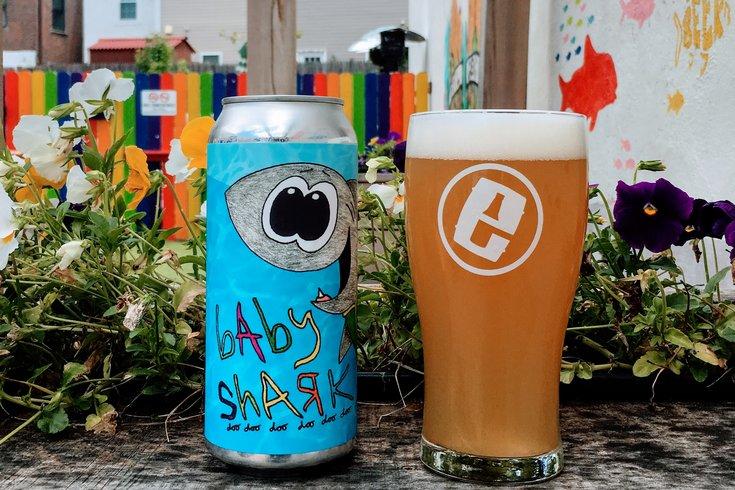Evil Genius Beer Company's Baby Shark beer
