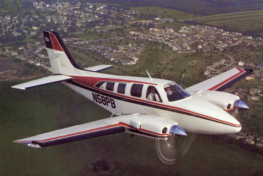 Beechcraft Baron 58 plane