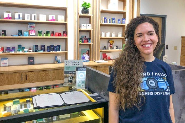 Beyond/Hello Medical Marijuana Center City Blythe Huestis