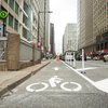 Bike lane in Philadelphia