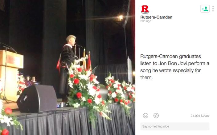 Bon Jovi at Rutgers