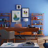 Blue room interior design