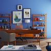 Blue room interior design