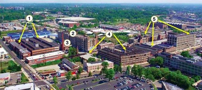 Five Budd Buildings Philadelphia