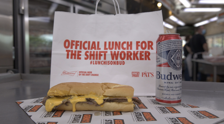 Philly Cheesesteaks Budweiser