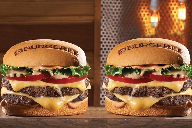BurgerFi cheeseburger