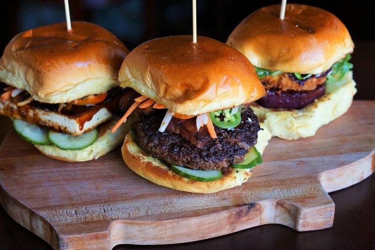 Super Bowl burgers