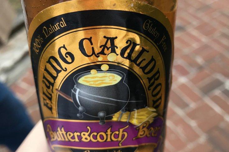 Butterscotch Soda in Peddler's Village