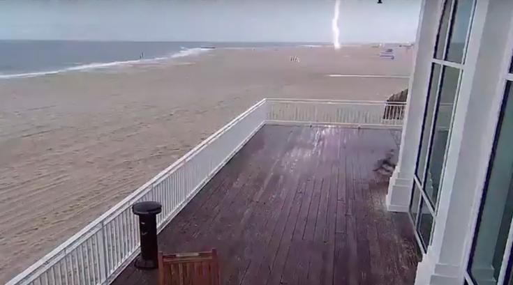 Cape May Lightning