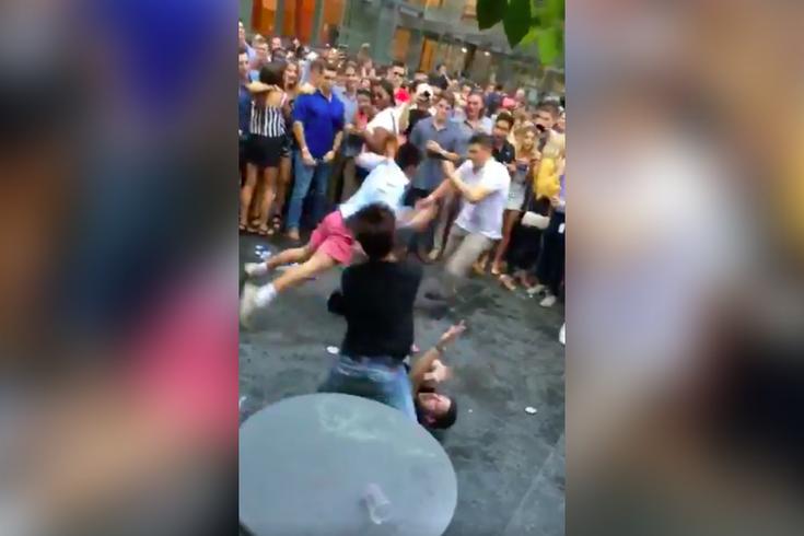 Center City Sips Fight