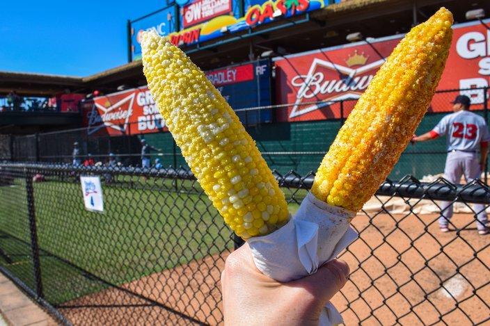Aw-Shucks corn on the cob