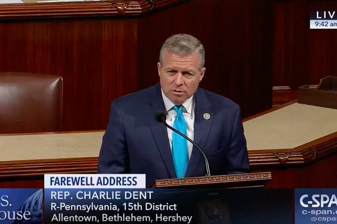Charlie Dent: Too many Republicans 'expect blind, unquestioning obediance' to Trump