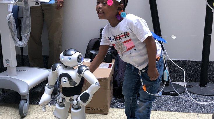 CHOP robot NAO