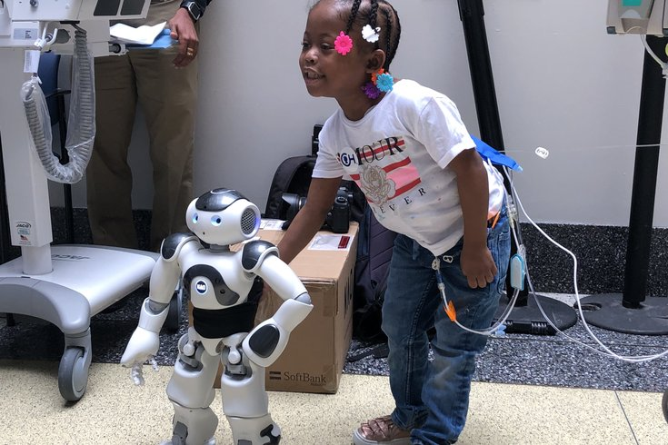 CHOP's new robot will talk with you, sing for you | PhillyVoice