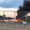new jersey turnpike fire