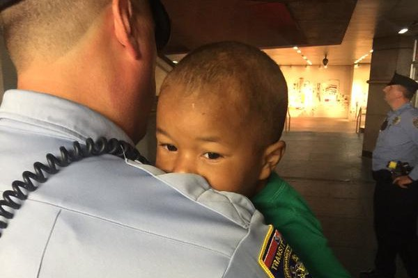 LOVE Park boy found wandering alone