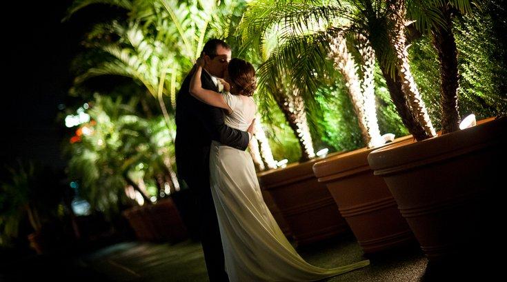 Lamberti Restaurants - Wedding Couple at Caffe