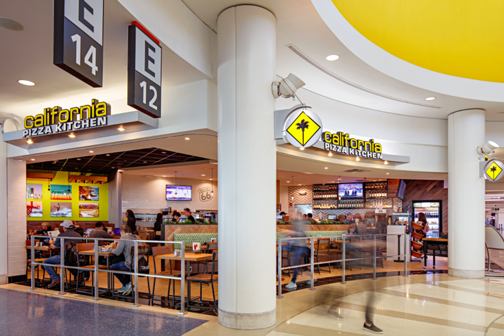 California Pizza Kitchen opens at