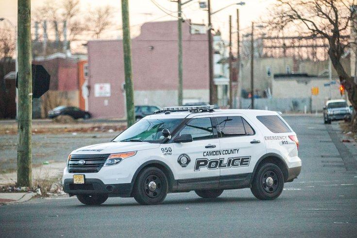 Camden County police SUV