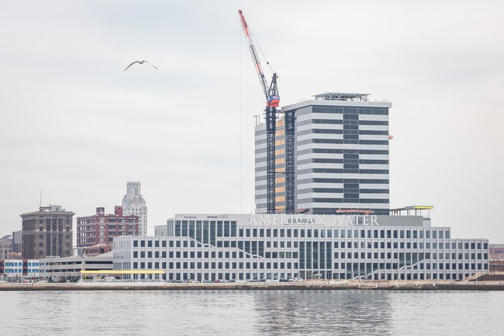 Corporate Office Tower on Camden Waterfront