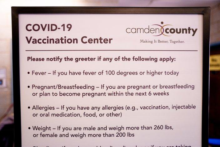 camden county COVID-19 vaccine
