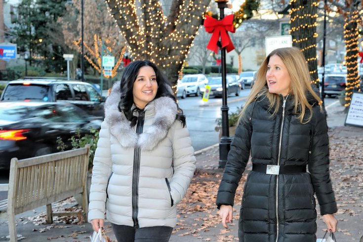 Candlelight Shopping in downtown Haddonfield