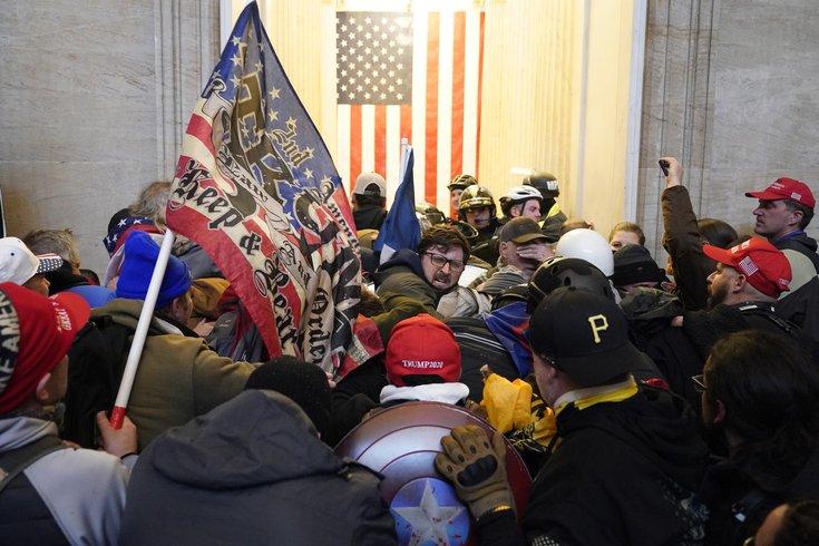 U.S. Capitol Trump mob