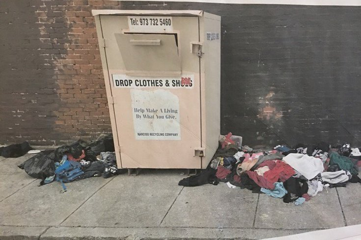 Clothing Donation Bins