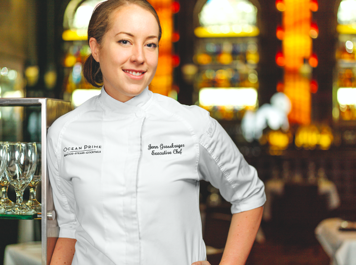 Chef Jenn Grosskruger of Ocean Prime