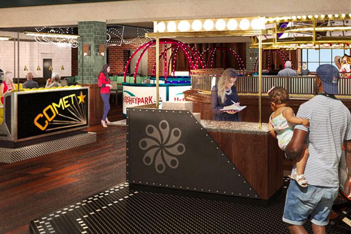 Hersheypark Chocolatetown
