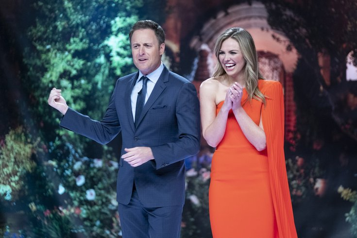 Chris Harrison and new The Bachelorette Hannah B