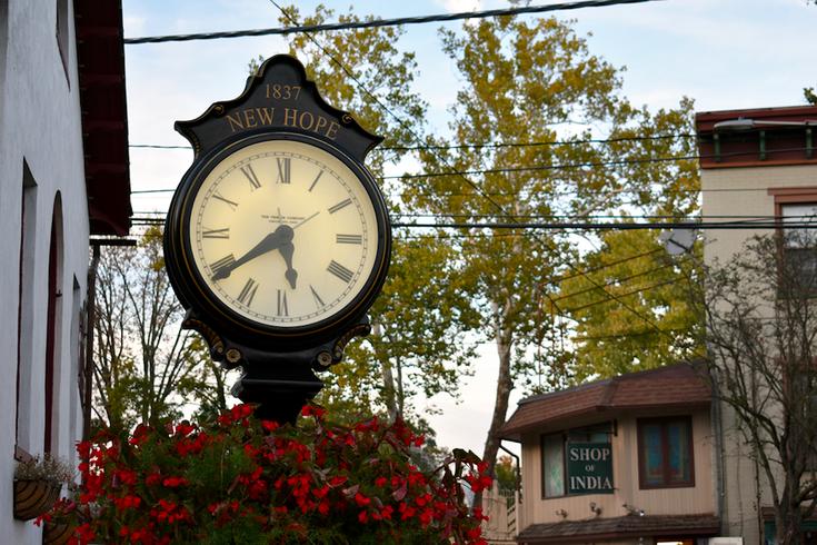 A clock in New Hope