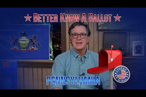 Colbert Pennsylvania Election