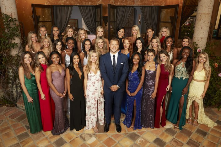Colton and all the contestants