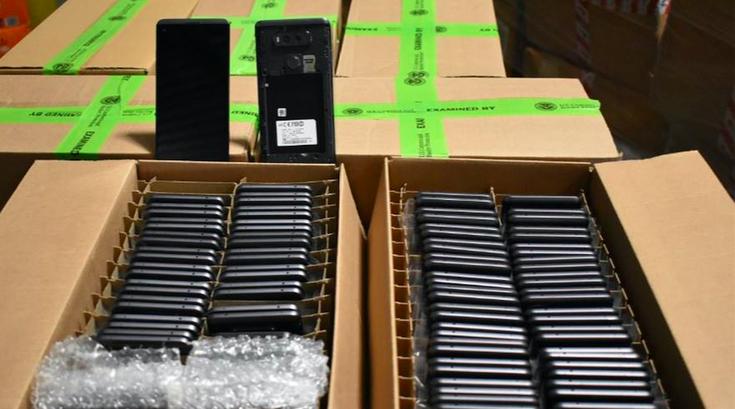 Counterfeit phones
