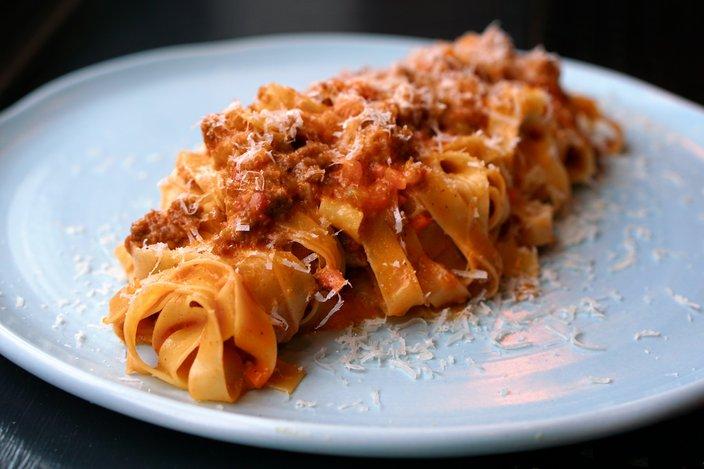 Cry Baby Pasta dish