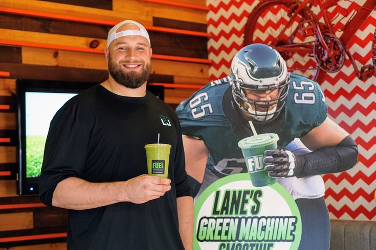 Philadelphia Eagles Offensive Tackle Lane Johnson partnering with Fuel