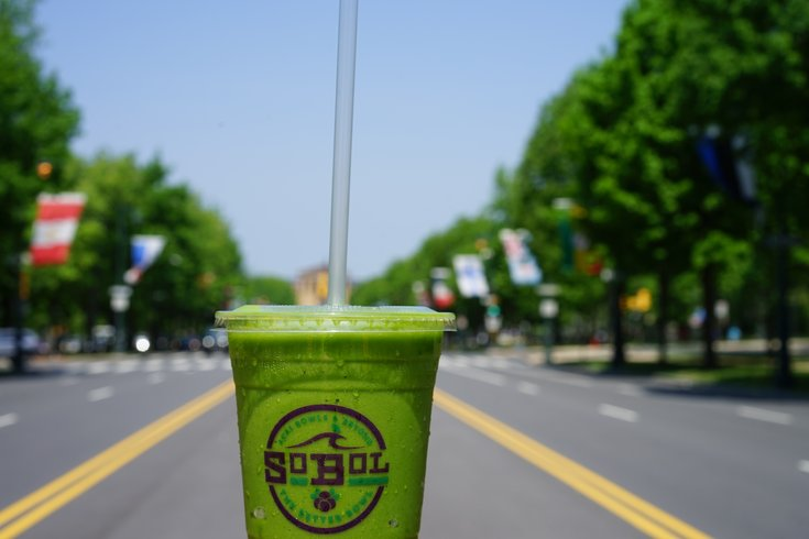 SoBol Philly UCity smoothie