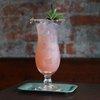 Hurricane cocktail for Mardi Gras