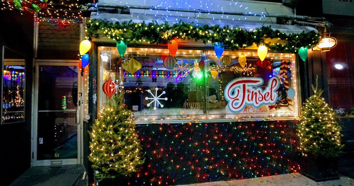 Tinsel, Philadelphia\'s Christmas pop-up bar, is back with snow globe ...