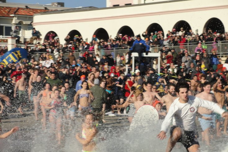 First Plunge in Ocean City