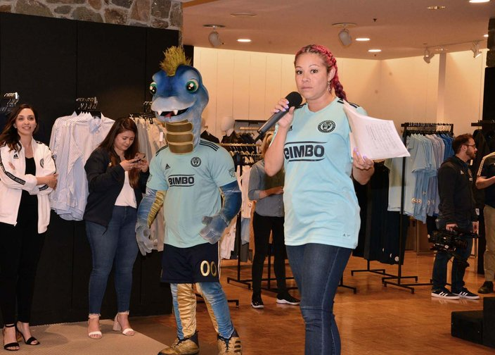 Dillon - Philadelphia Union x Parley Kit launch party