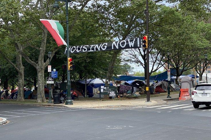 Deal Homeless Encampment Philly
