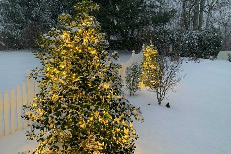 早期的预测显示,今年圣诞节,费城地区可能会迎来一场雪。(photo:PhillyVoice)